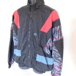 Vintage 90'S Nike Colorblock Nylon Windbreaker